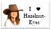 I Love Hazelnut-Eyes Stamp by Hazelnut-Eyes