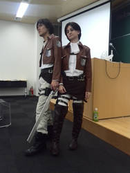 My Levi cosplay