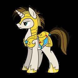 Guard Horse [C] by DMC-CorbeauNoir