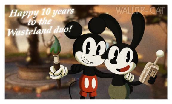 Epic Mickey 10th Anniversary Pic