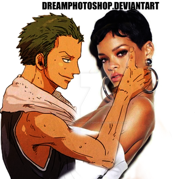ZORO X Rihanna by DreamPhotoshop