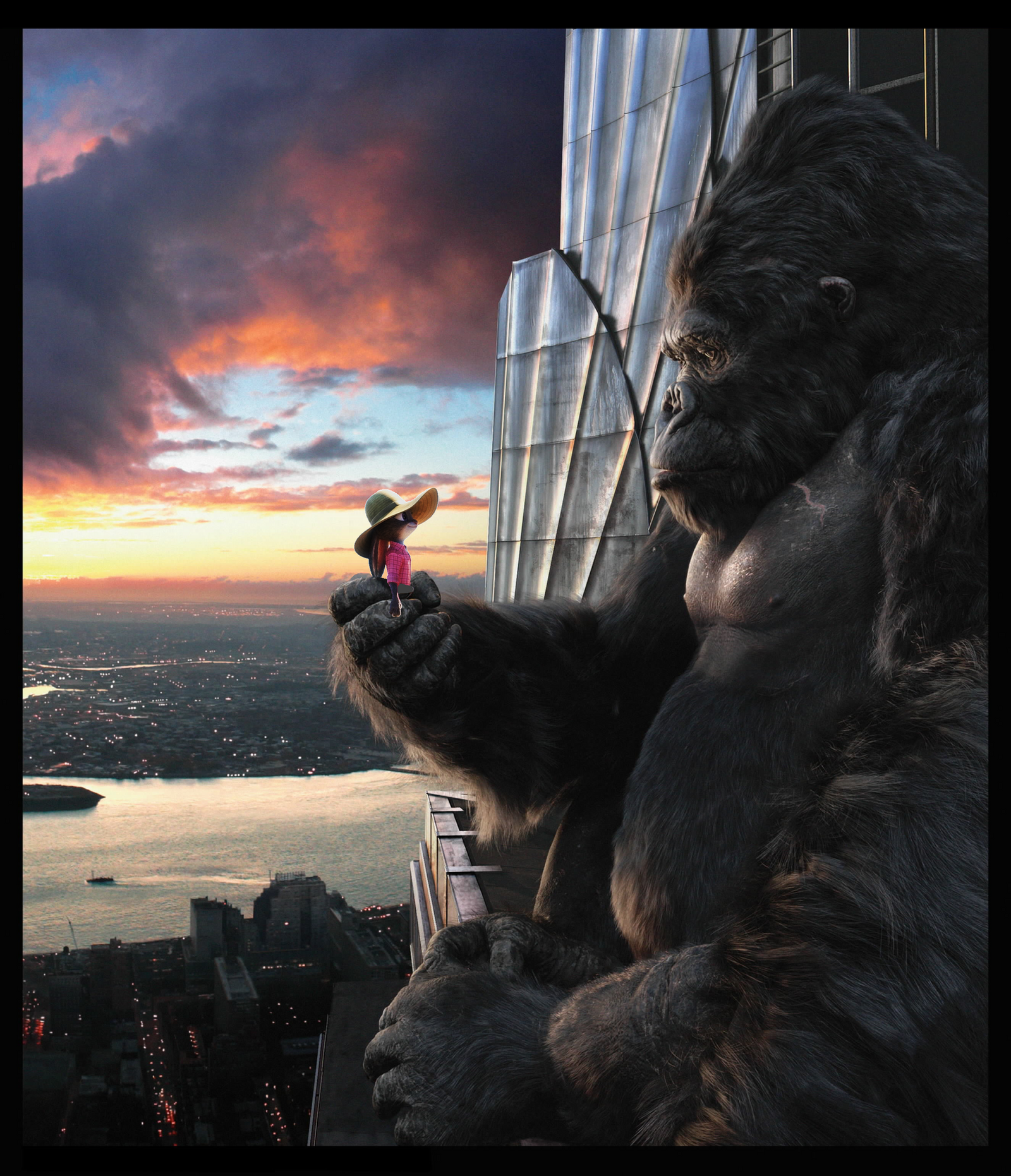 Judy Darrow And King Kong. By Through-the-movies On DeviantArt