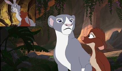 Blackberry and Hannah in Lion King style. by Through-the-movies