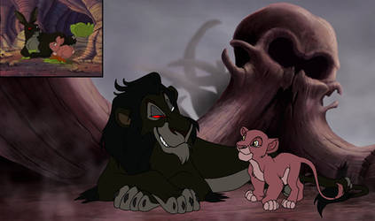 Woundwort and Pipkin lionized by Through-the-movies