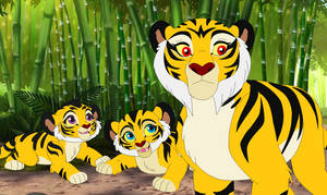 Chinese Tigers in Lion Guard Universe