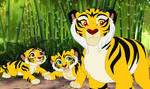 Chinese Tigers in Lion Guard Universe by Through-the-movies
