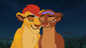 King Kion and Queen Rani