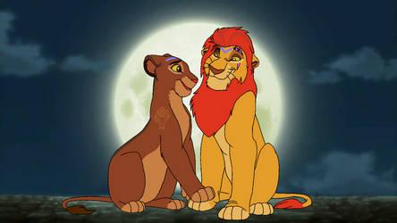 Kion and Rani's romantic night. by Through-the-movies