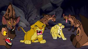 Lion King 2019 Simba's Little Roar.
