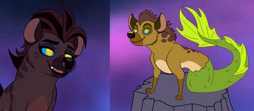 Siren hyena seduces Jasiri by Through-the-movies