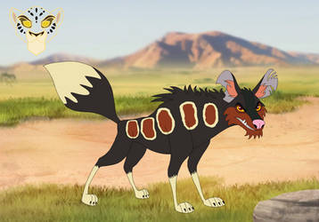 Wizi the African Wild Dog by Through-the-movies