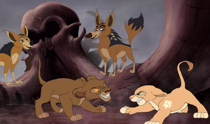 Star and Lion Guard Adventures: Nyota ambushed. by Through-the-movies