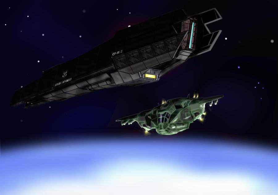 UNSC PROWLER: APOLLO by D4RKST0RM99