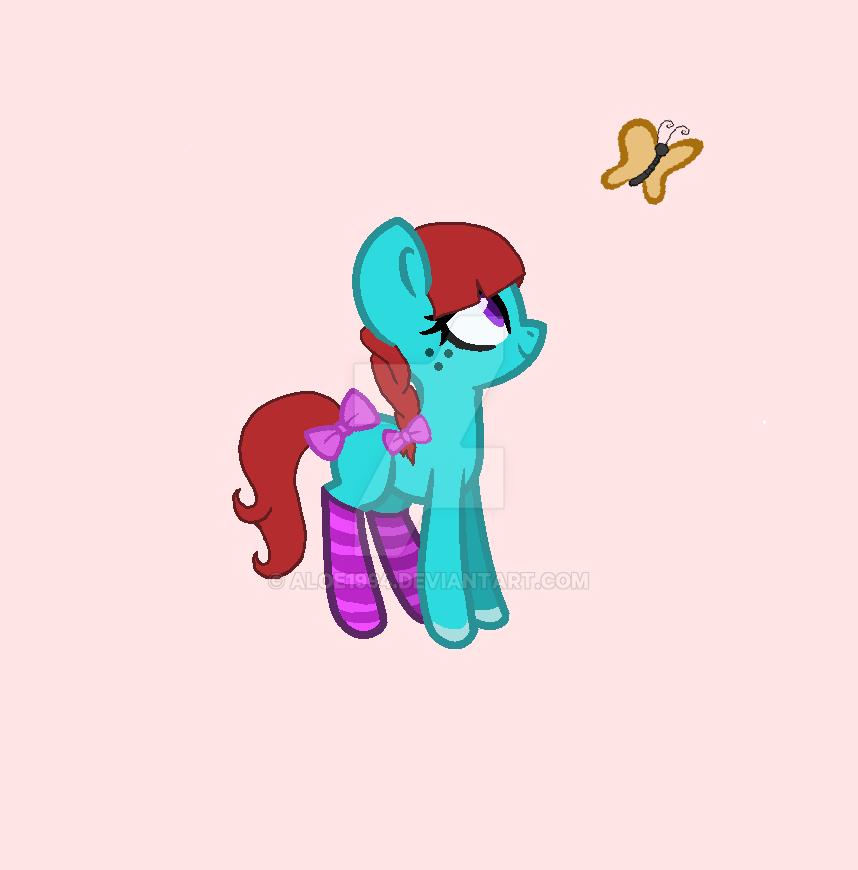 Flirty Pony Update (still dta) by aloe1994