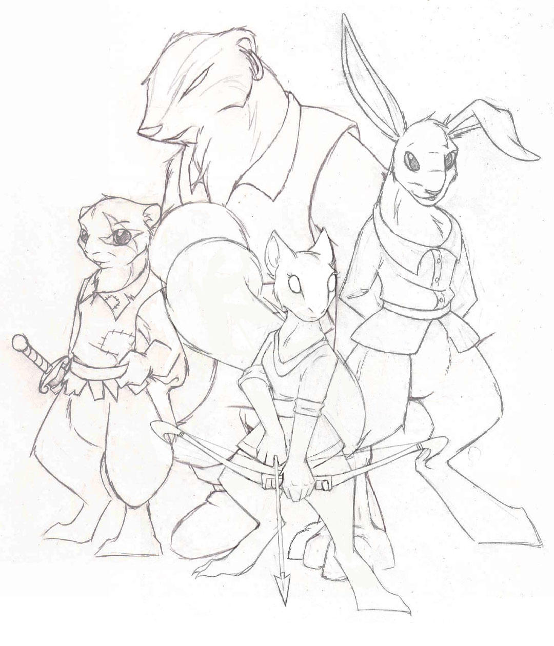 Redwall RP Crew by demented1