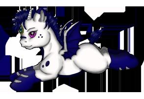 Siren Pony Adoptable - Baby Male by yumeko