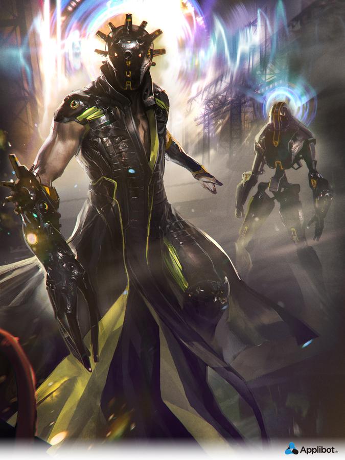 Droid Master by Fredaugis
