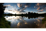 By the Lake - panorama