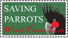World Parrot Trust Stamp by theFouro