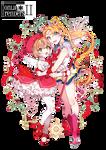 Sakura and Sailor Moon [Render #1]