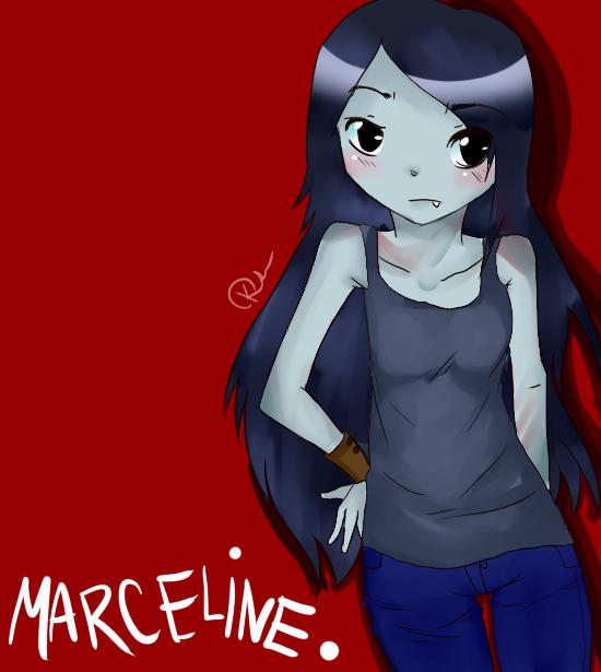 Marceline fanart by seichan09