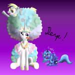 Celestias Hair Style by Derpy