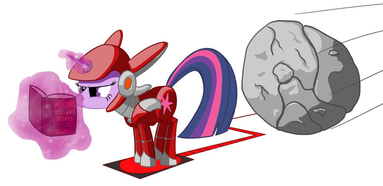 Adamantite Pony by Cgeta