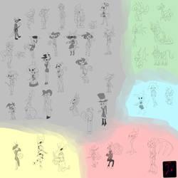 Character Sketch Randump