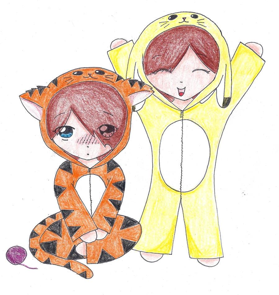 cute chibi onesies #1 by derpykittykat