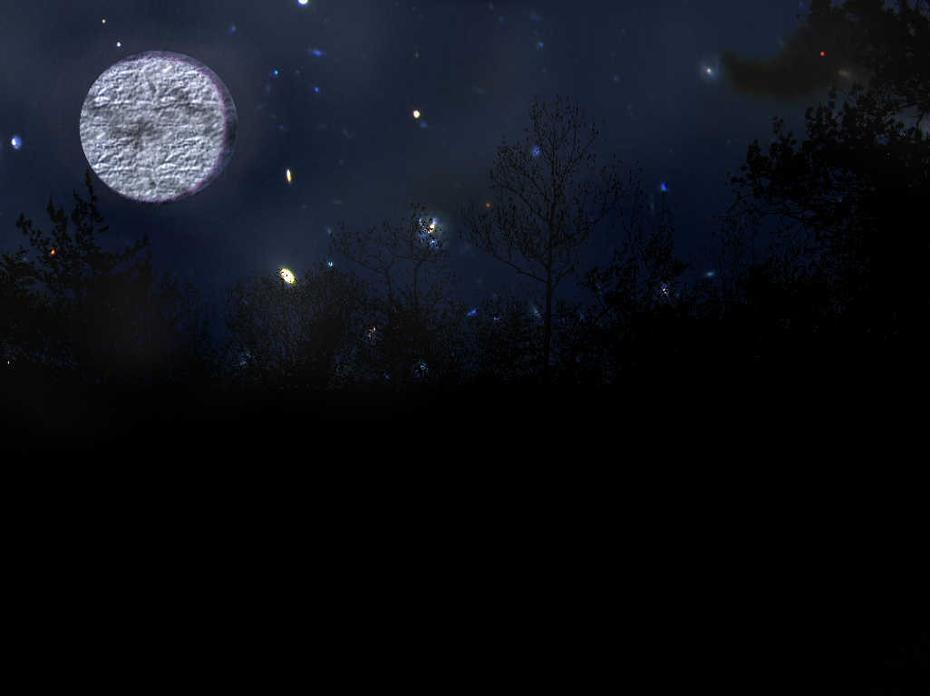 Nighttime in the Forest Nighttime_Forest_by_Noxeh