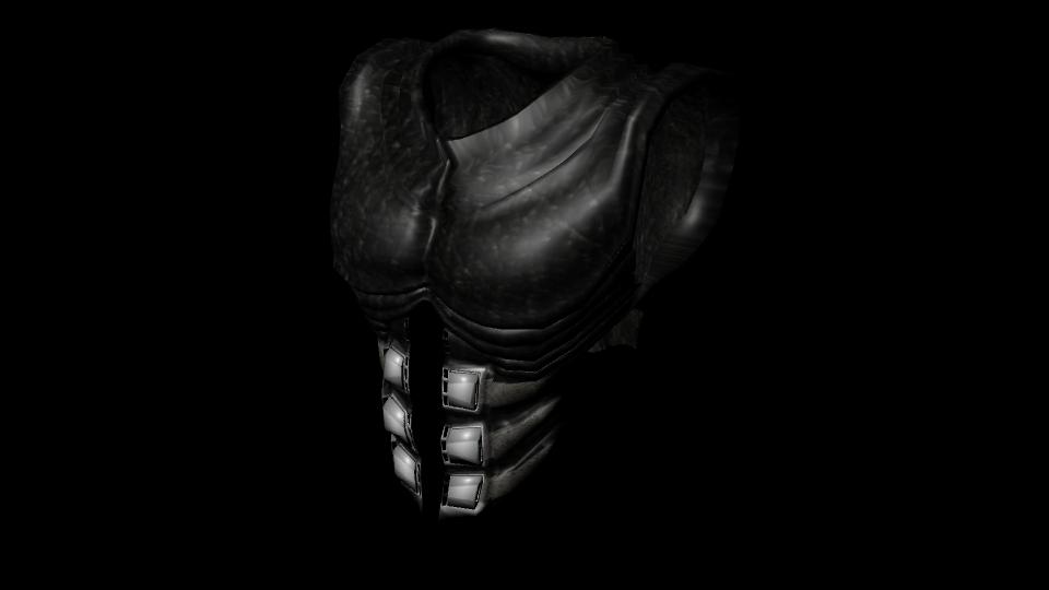 Futuristic Armored Vest by tigreanpony