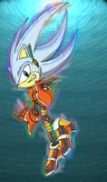 Hyper Sonic in PSO costume by footman