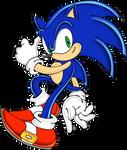 Uekawa's Sonic colored