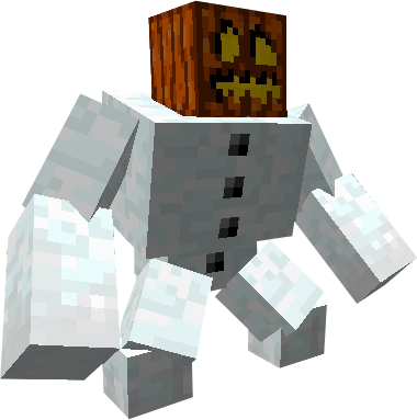 Mutant snow golem by scott910 on deviantart - Minecraft golem de diamant ...