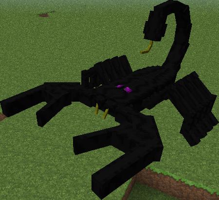 скорпион майнкрафт #5
