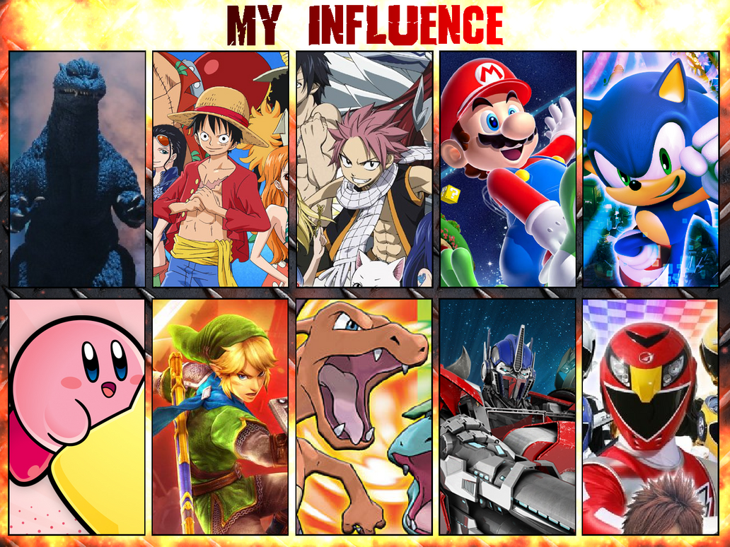 My Influence by scott910