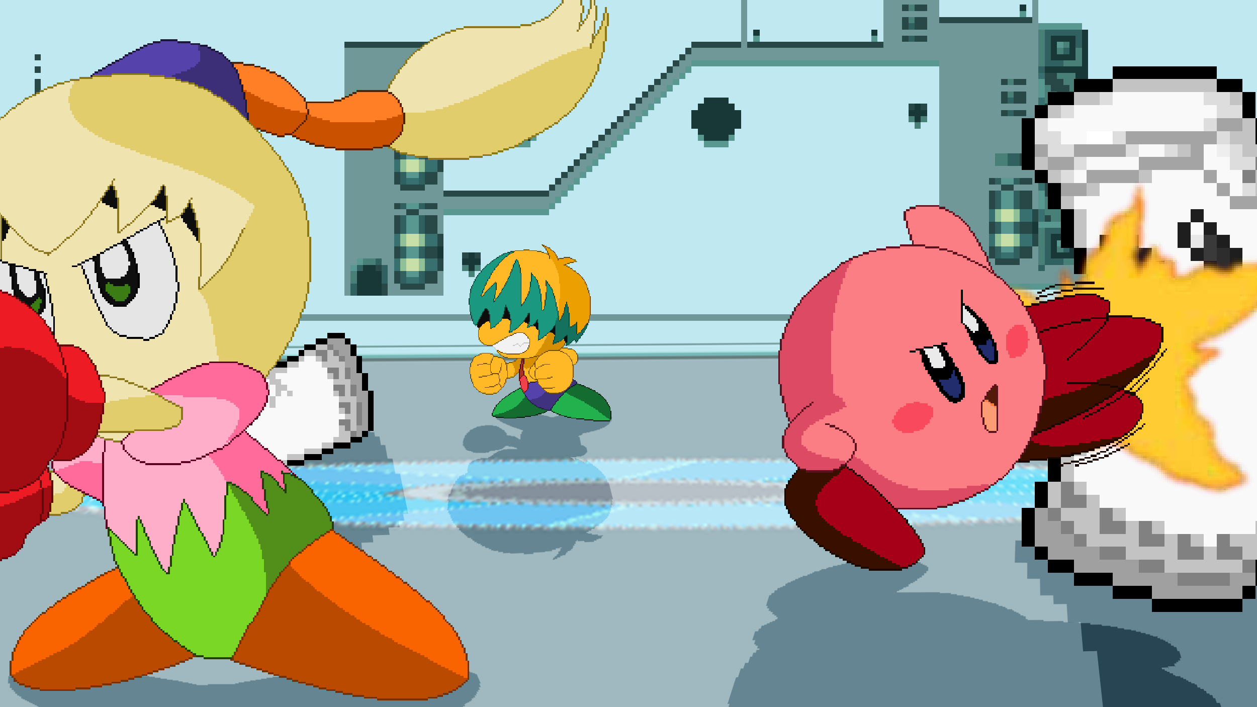 Kirby Right Back At Ya Tiff And Tuff Kirby Tiff and Tuff tr...