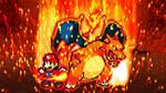 Mario and Charizard by scott910