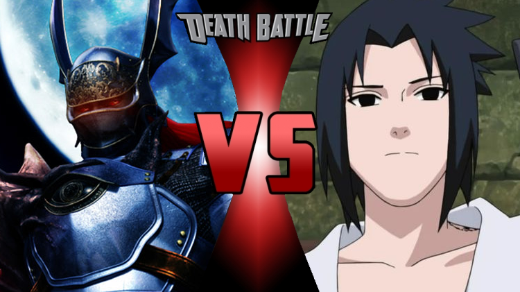 Death Battle Nightmare vs Sasuke cover by scott910