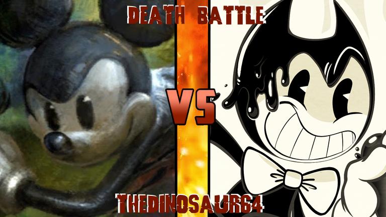 death battle mickey vs bendy coverscott910 on deviantart