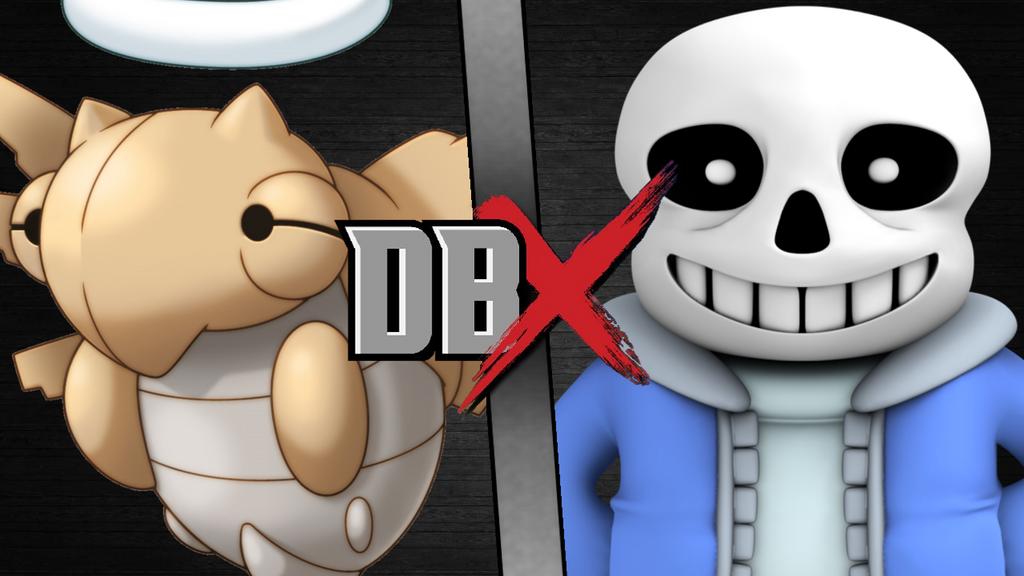 DBX Shedinja vs Sans by scott910
