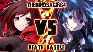 Death Battle Ruby vs Kirito cover