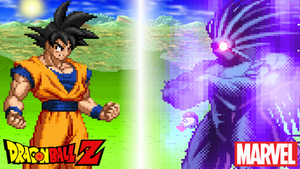 Goku vs Blackheart