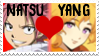 Natsu And Yang Stamp by scott910
