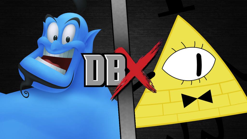 DBX Genie vs Bill Cipher by scott910