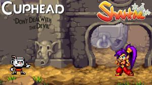 Cuphead vs Shantae by scott910