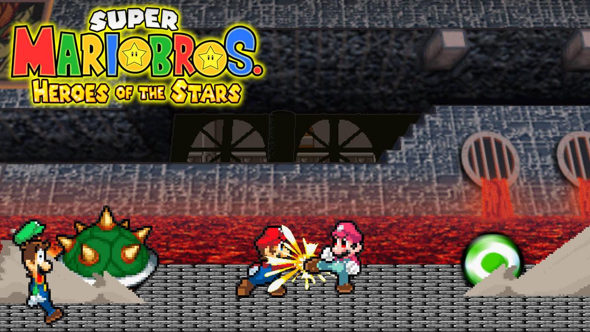 Smbhots Heroes Vs Devil Mario By Scott910 On Deviantart
