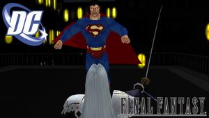 Superman vs Sephiroth