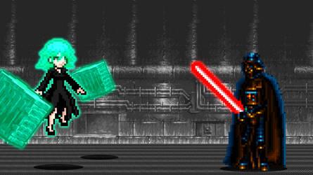 Tatsumaki vs Darth Vader by scott910