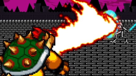 Bowser vs General Grevious by scott910
